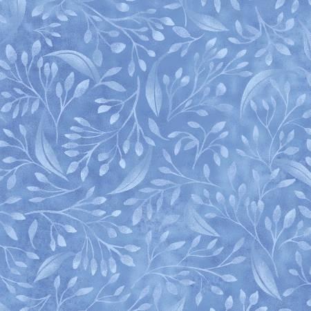 Blue Flourish